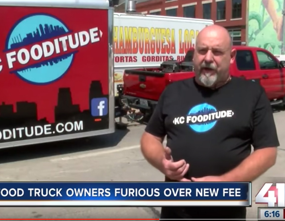 Food truck owners frustrated over new fee